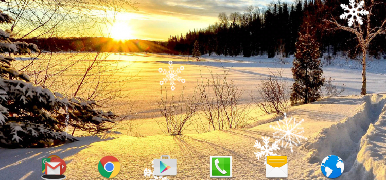 Winter Landscapes Wallpaper